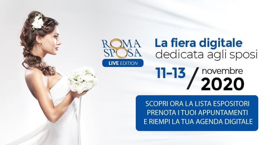 Roma sposa live
